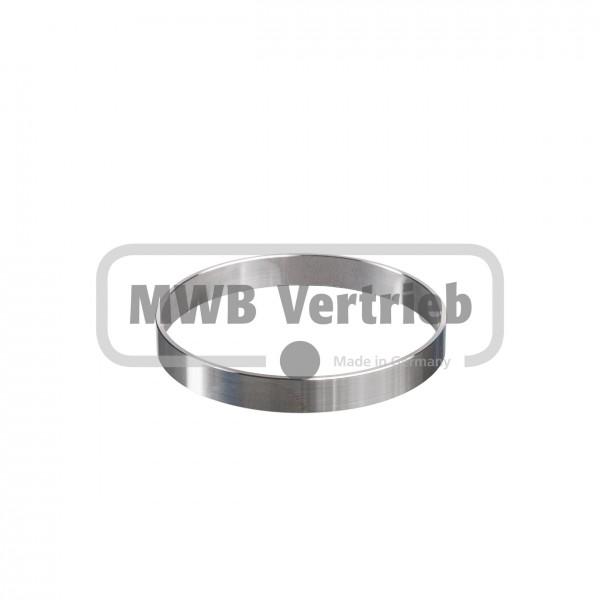 V2A Ring rund Ø80x2,0x10 mm, Wst. 1.4301 geschliffen, Korn 400