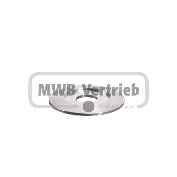 V2A Trapezscheibe 50 x 30,2 mm
