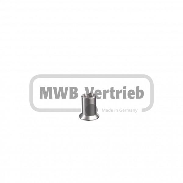 Innen-6Kt.-Schraube Ø20x22 mm, mit Innengewinde M10, SW6, für Scheibe: 50014471