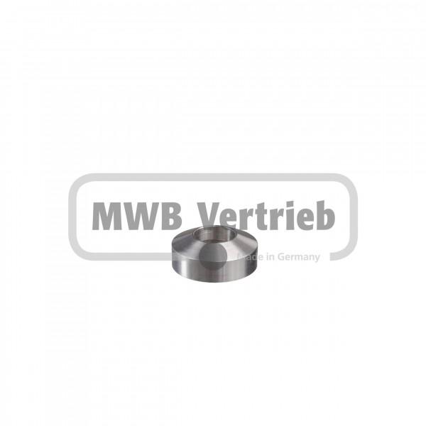 V2A Abdeckrosette für Rohr Ø33,7mm