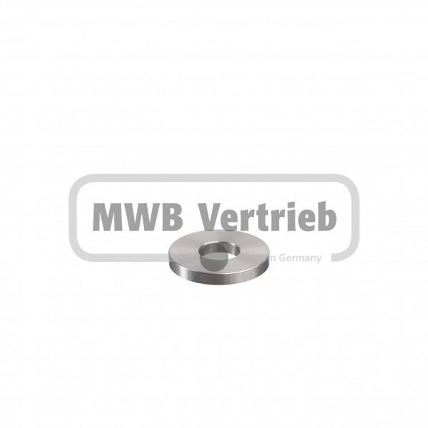 V2A Universalscheibe Ø40x5mm, und Durchgangsbohrung Ø16,2 mm