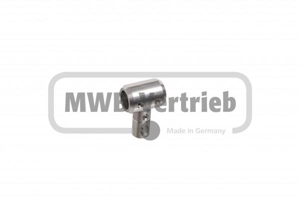 Nova Halter für Rohr 16 mm,bestehend aus Grundhalter 50010812 und Stutzen 50010803