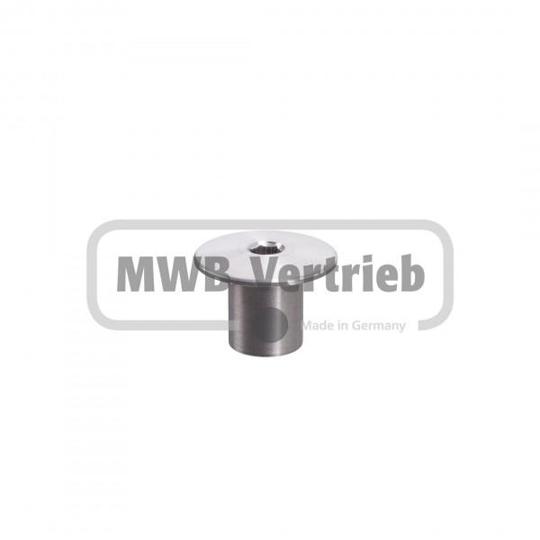 V2A untere Stufenverschraubung Ø30x21 mm
