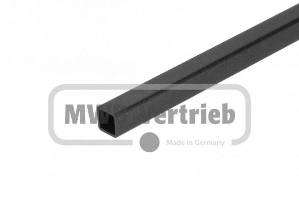 Quadratstab 16x16 mm in P7, ohne Gewinde, ohne Trapezscheibe