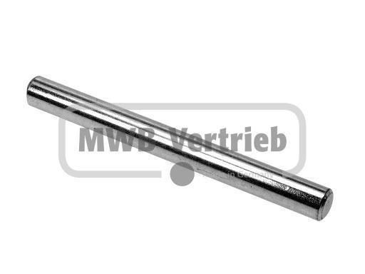 V2A Stufenbolzen Ø 16x100 mm, Vollmaterial, geschliffen K400